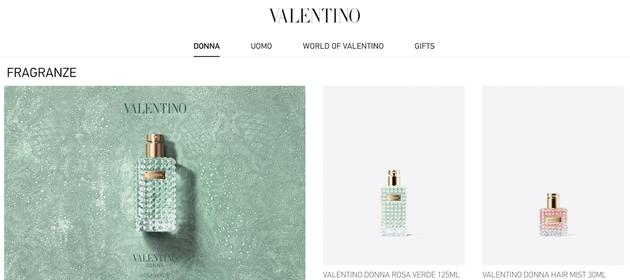 欧莱雅集团与Valentino达成香水和奢华美容产品授权经营协议