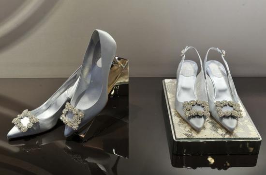 Roger Vivier最标志性的婚礼及晚宴系列鞋履