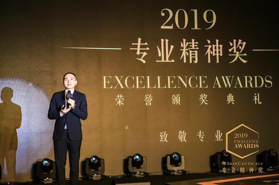 欧莱雅中国副总裁及活性健康化妆品部总经理陈旻先生