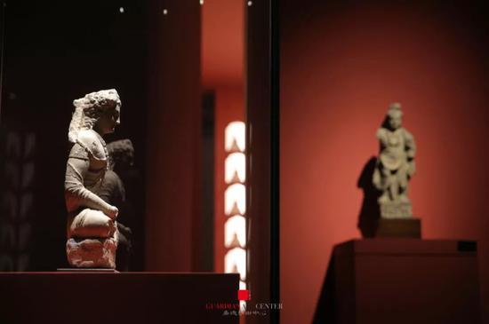 《见相非相——犍陀罗佛像艺术特展》现场