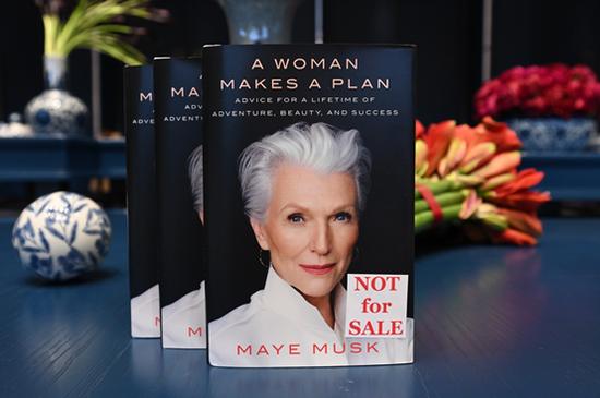 传奇女性Maye Musk 新作《A Woman Makes A Plan》