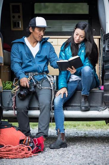 ▲ 本片的导演金国威和瓦沙瑞莉夫妇