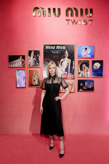 Miu Miu品牌代言人Elle Fanning