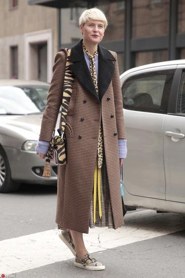 土气豹纹逆袭路换种穿法还能这么时髦呢