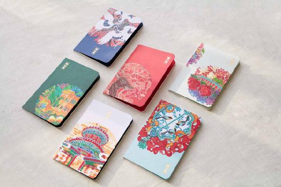 颐和园皇家生活馆文具类产品