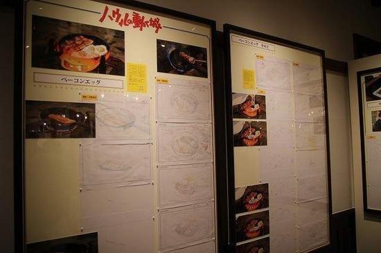 宫崎骏动画设计草图