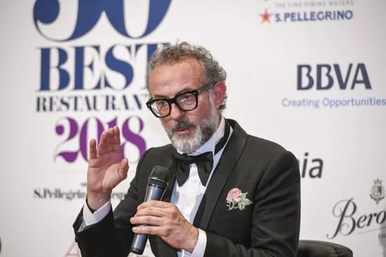 Osteria Francescana餐厅主厨Massimo Bottura