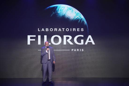 FILORGA菲洛嘉护肤品CEO Bertrand Frohly先生