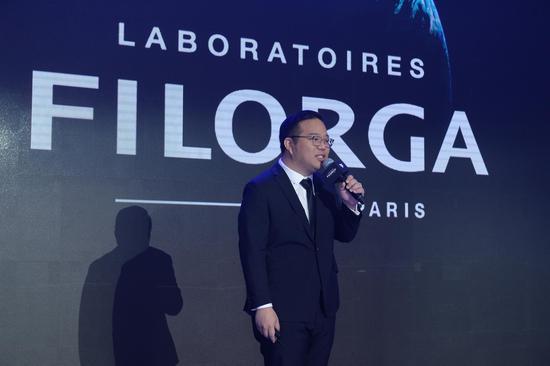FILORGA菲洛嘉中国区总经理Damon YEOH先生