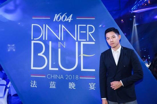 知名媒体人孙赛赛出席#1664法蓝晚宴#