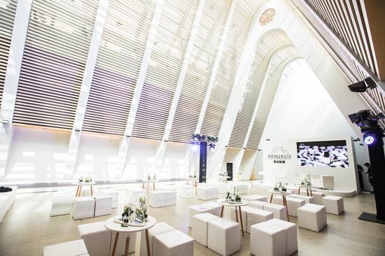 9月21日ORiNERGiE原点能量在三里屯CHAO酒店首次亮相中国发布会