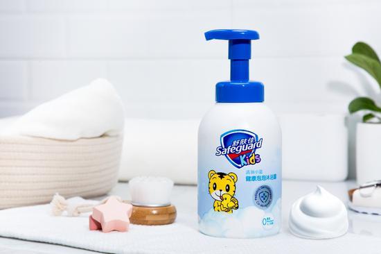舒肤佳棉花糖氨基酸泡泡洗护系列全新上市 明星妈妈的带娃秘籍