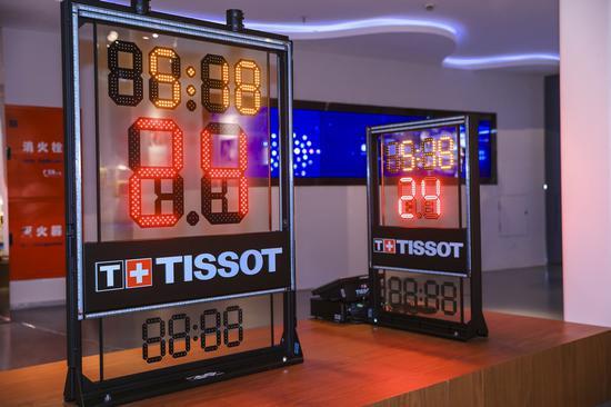 """天梭表全新计时计分系统登陆""""NBA冠军主题展"""""""