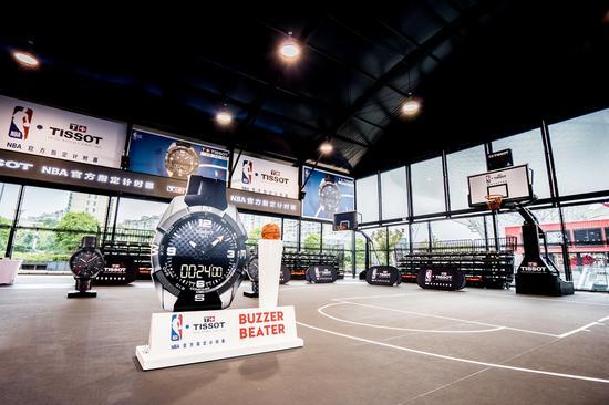 天梭表NBA球星训练营现场