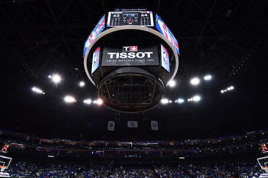 天梭表以精准计时鼎力支持NBA中国赛上海站