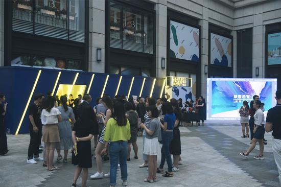 GAMEBOX沉浸式游戏艺术展现场火爆