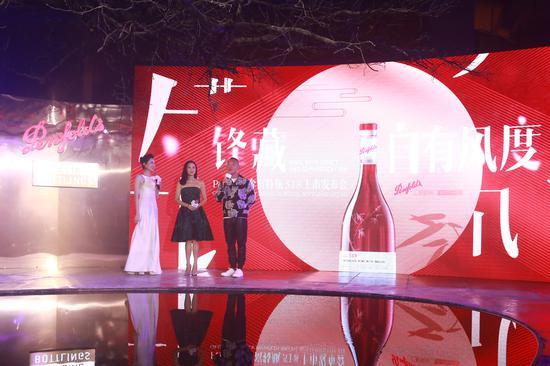 中国香港影星林保怡先生及郭羡妮女士出席活动