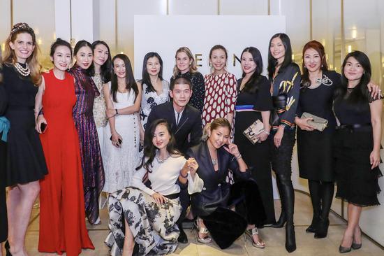 名流齐聚 共同庆祝AERIN Beauty中国成功上市