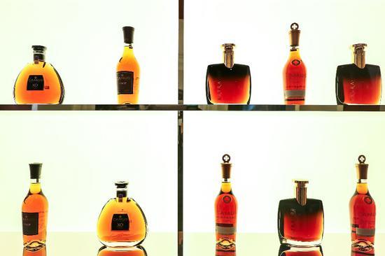 卡慕干邑系列产品