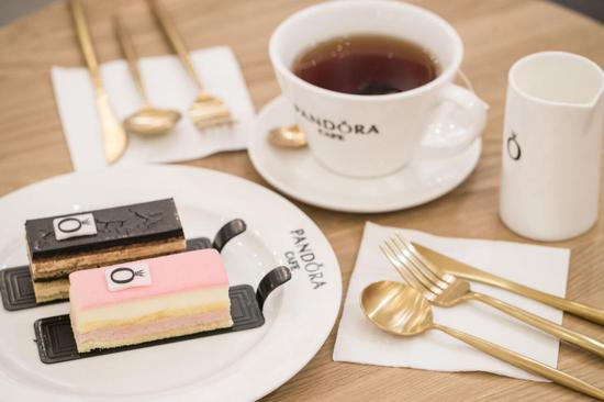 Pandora Café 为消费者提供多样精致餐饮甜点