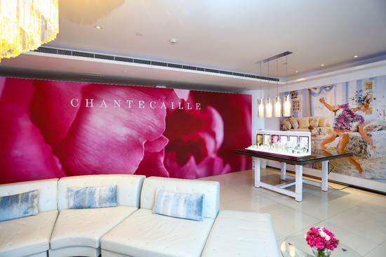 香缇卡中国内地首次品牌新品发布会现场