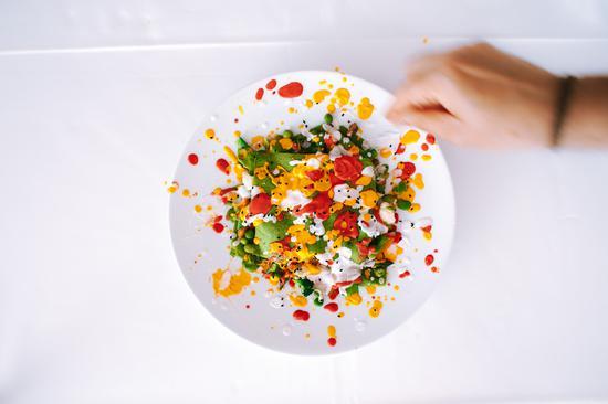 Clinique La Prairie为客人定制的健康菜肴