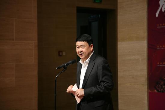 中共福建省委常委、宣传部长、省委秘书长梁建勇致辞