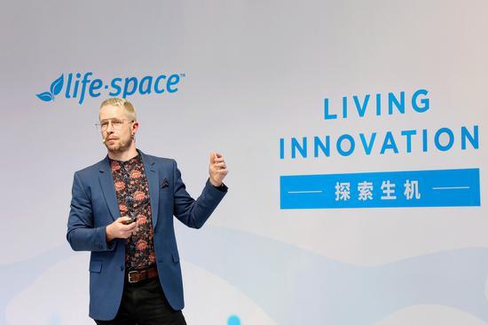 Life-Space全球研发机构负责人 David O'Reilly