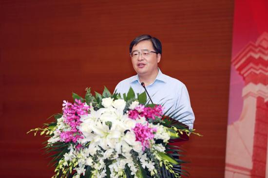 北京市委宣传部副巡视员、北京市文化创意产业促进中心 梅松主任