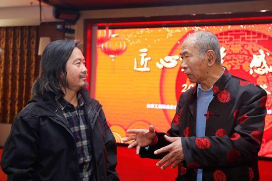 中国国家博物馆原党委书记谷长江与黄有为