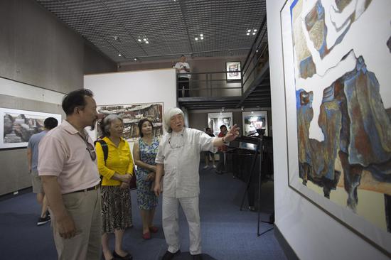 目中无牛—大泽人艺术作品展亮相北京