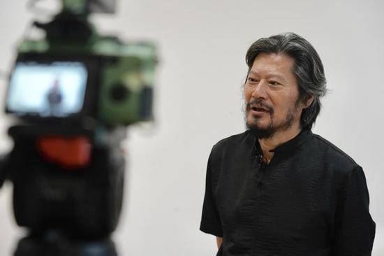 中国国家画院雕塑院执行院长 王艺接受采访