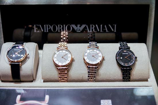 EMPORIO ARMANI在重庆举办活动庆祝满天星系列限量款腕表发布