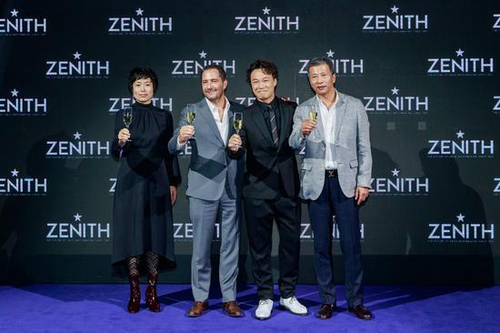 ZENITH真力时携手陈奕迅 发布大中华区限量版