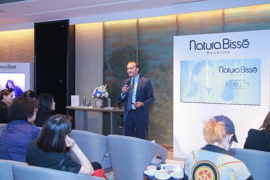Natura Bissé悦碧施全球首席商务官Juan Albanell先生