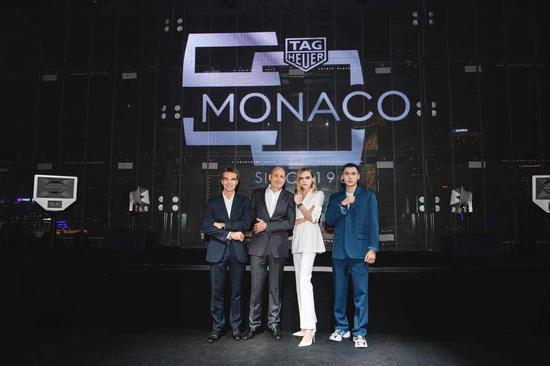 TAG Heuer泰格豪雅推出Monaco 系列限量版腕表