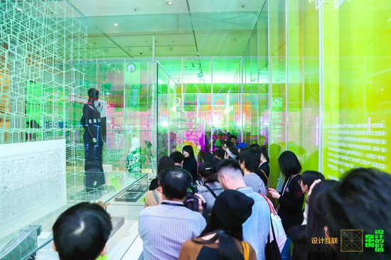 设计的价值在中国 开幕导览现场