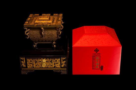 賀紫禁城建成六百年故宮國藏酒冰鑒缶上市