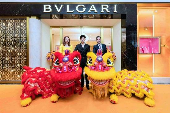 BVLGARI宝格丽杭州大厦精品店焕新揭幕