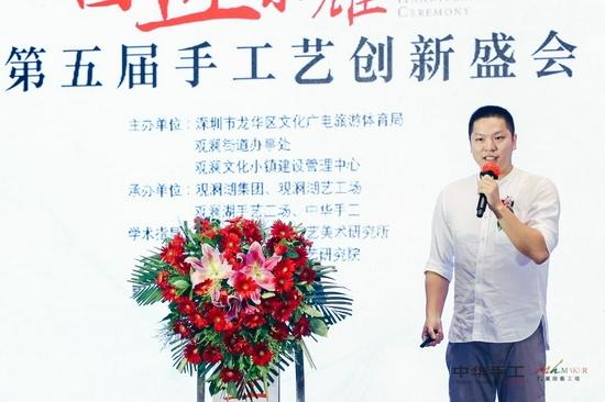 广式硬木家具制作技艺传承人、耕酸堂总经理 刘伟振