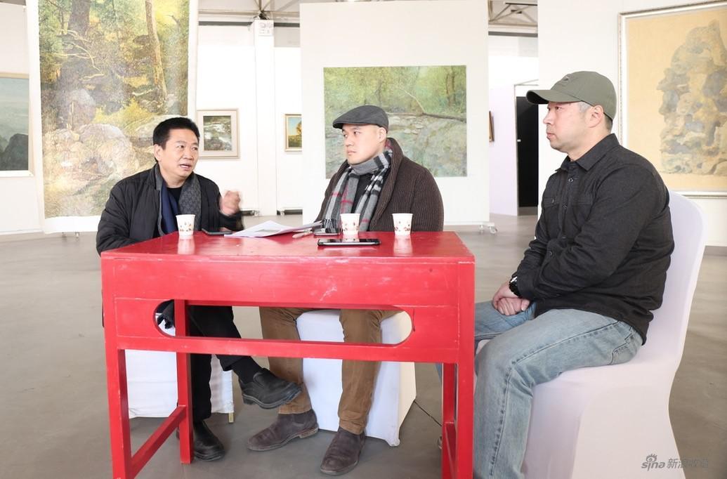 现场对谈(左起:张子康、林梓、谭尚勤)