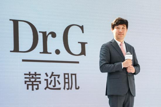 Dr.G蒂迩肌品牌创始人 安建荣先生致辞
