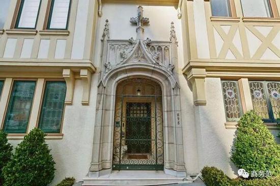 据说这是凯奇曾购买的旧金山房子