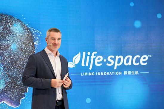 Life-Space全球销售及市场总监 Matt Holmes
