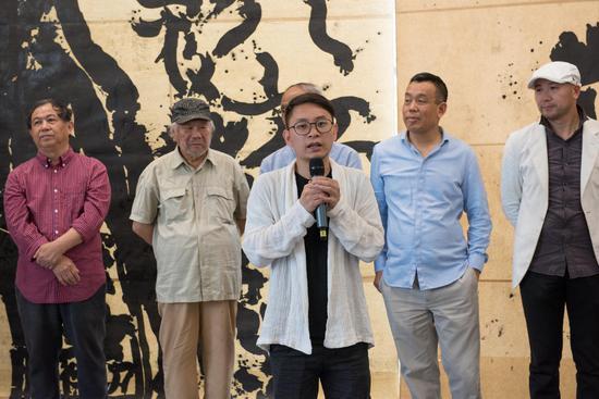 全国书写艺术邀请展在上海宝龙艺术中心开幕