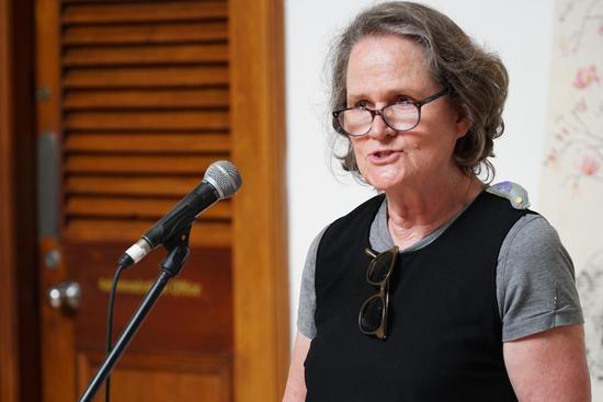 学术主持、艺术史学家 Juliette Leeb Du-Toit 博士 开幕致辞