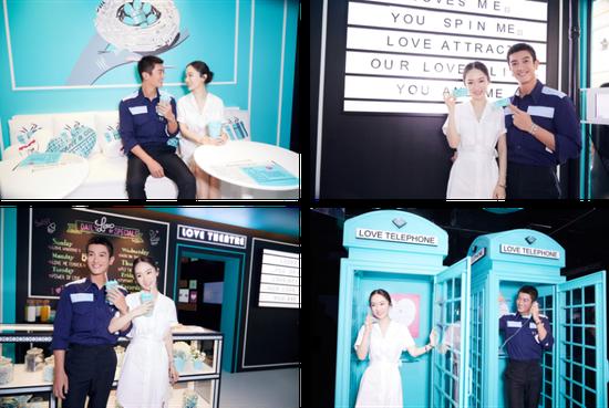 蒂芙尼中国区品牌挚爱大使杜江、霍思燕夫妇