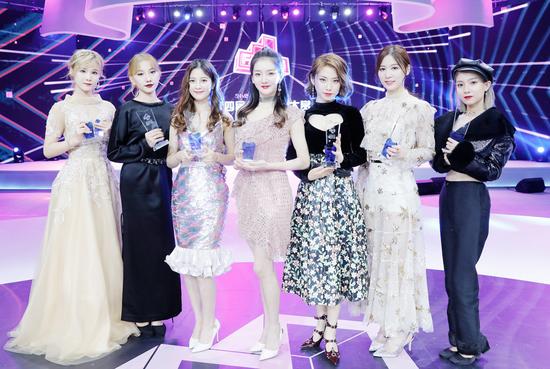 2018风尚Style-7: 闫明筠、林溪荷、陈美君、青钰雯、王诗蒙、林楠、高志娴