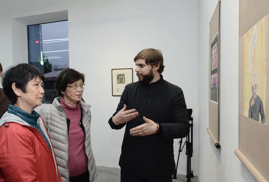 2019艺术8法国奖得主巴立博个展在George V艺术中心正式开幕