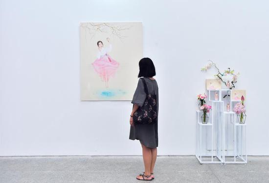 """时光醒了""""参肌""""重现 2018年秀雅韩真生精华乳中国上市3周年跨界艺术展"""